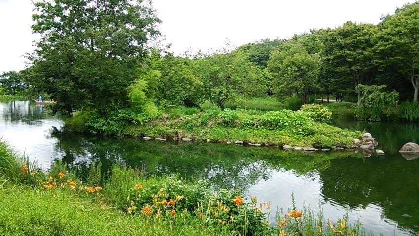衝動的に木曽三川公園へ