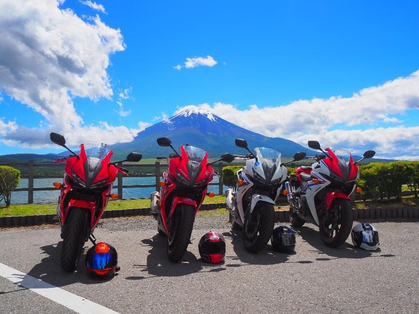 【CBRと富士山と写真を撮る会】