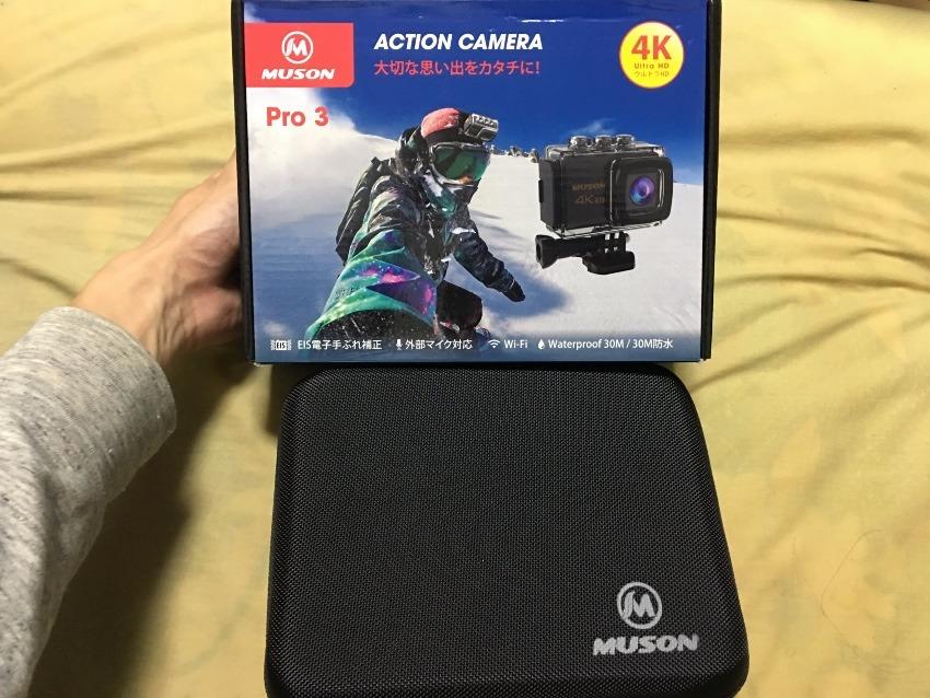 MUSONアクションカメラ購入