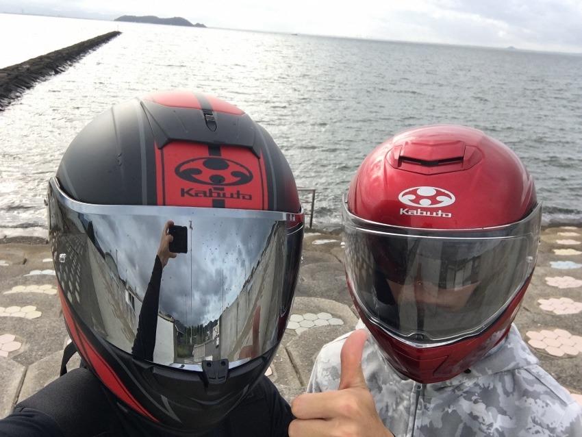 伊良湖岬と豊田の県道