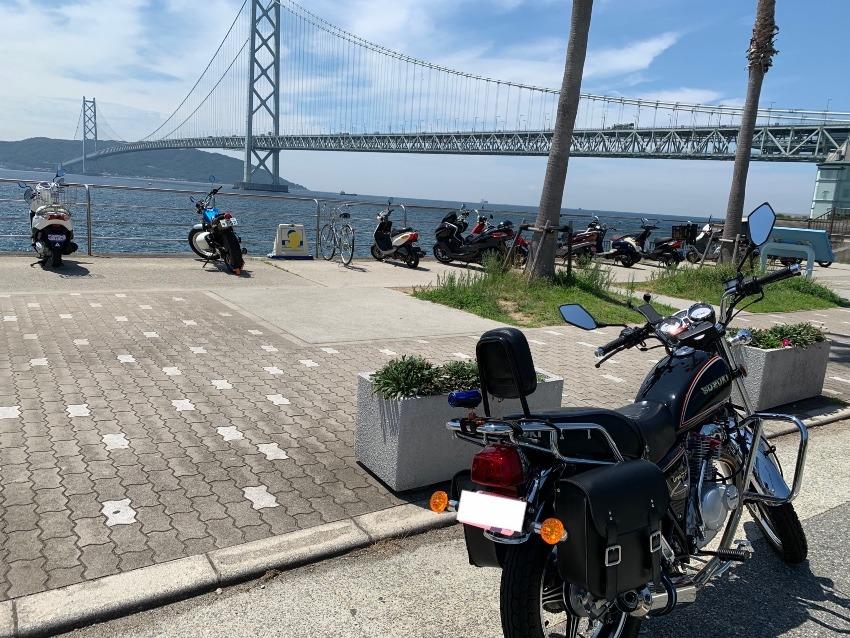 125ccで行く淡路島旅行