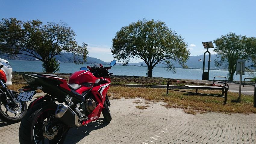 諏訪湖は晴れているか?