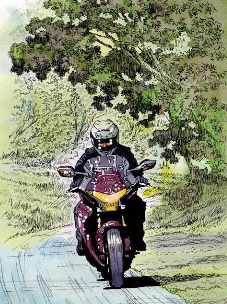 バイクに関する絵のページ