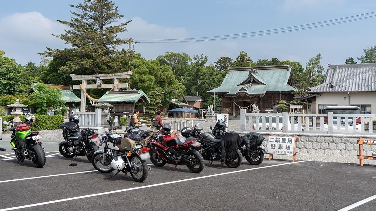【2/1(土)愛知発】静岡のバイク神社、大歳神社へ初詣ツーリング行きませんか?