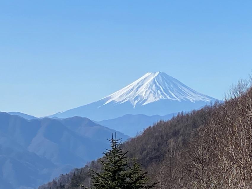主に北側の富士山の眺め