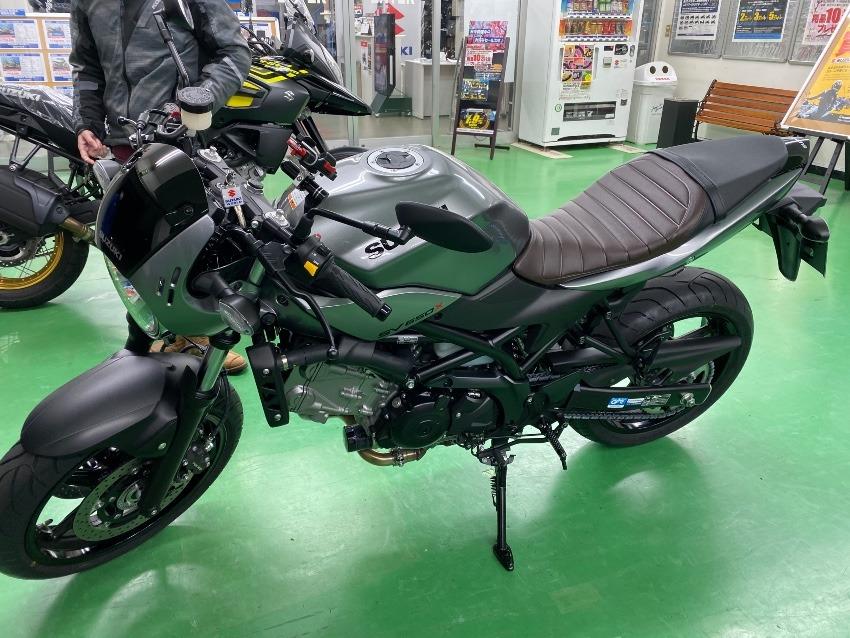 バイク乗り換え SV650X
