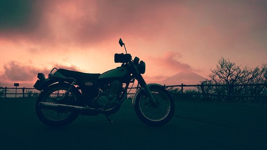 SRで旅をする    芦ノ湖スカイラインで夕陽と富士山に感動