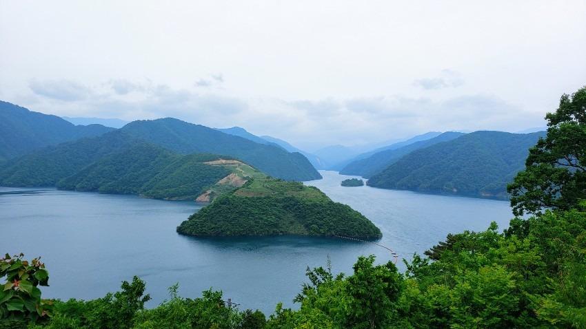 徳山湖再び