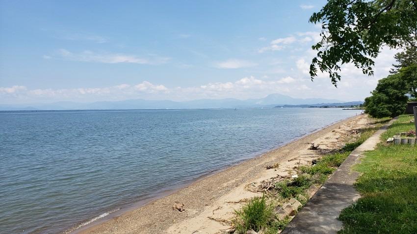県またぎ解禁 再び琵琶湖へ①