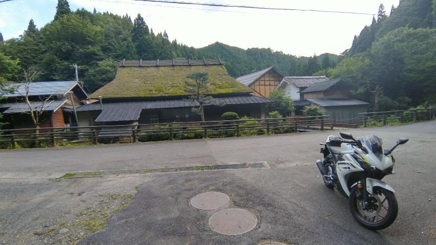 古民家カフェ 和佳(のどか)@鳥取県智頭町