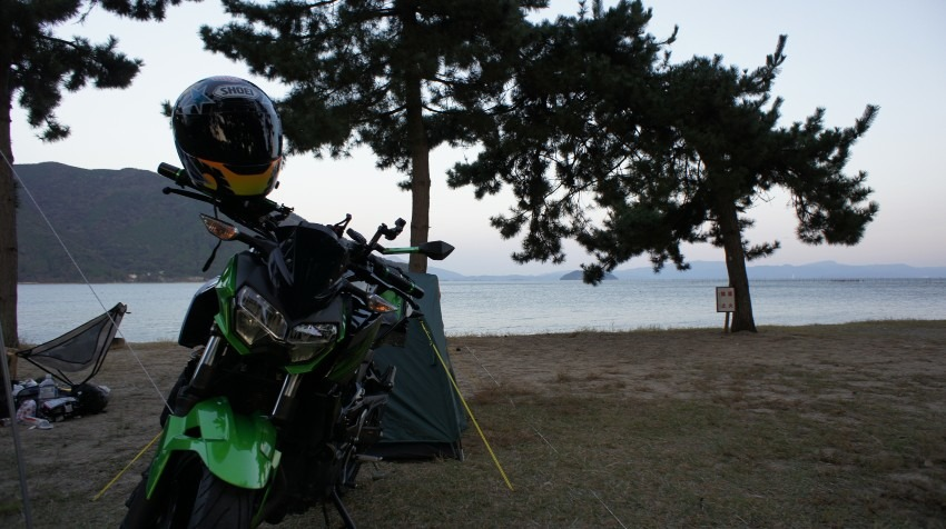 琵琶湖キャンプ