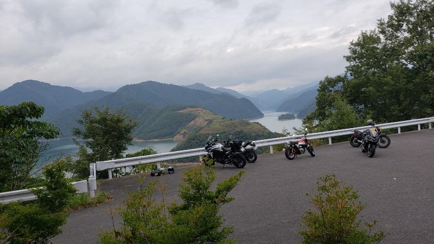 淡墨温泉~徳山湖