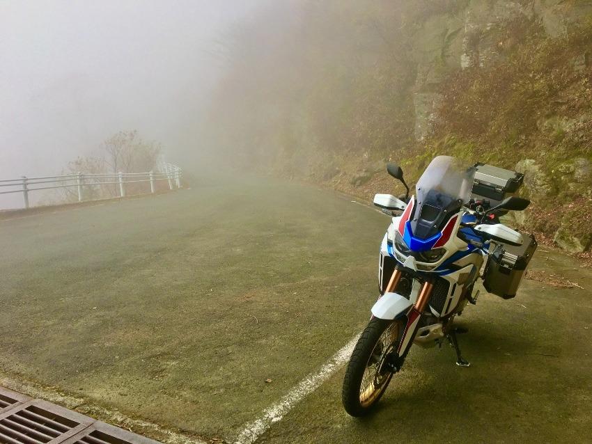霧のUFOライン