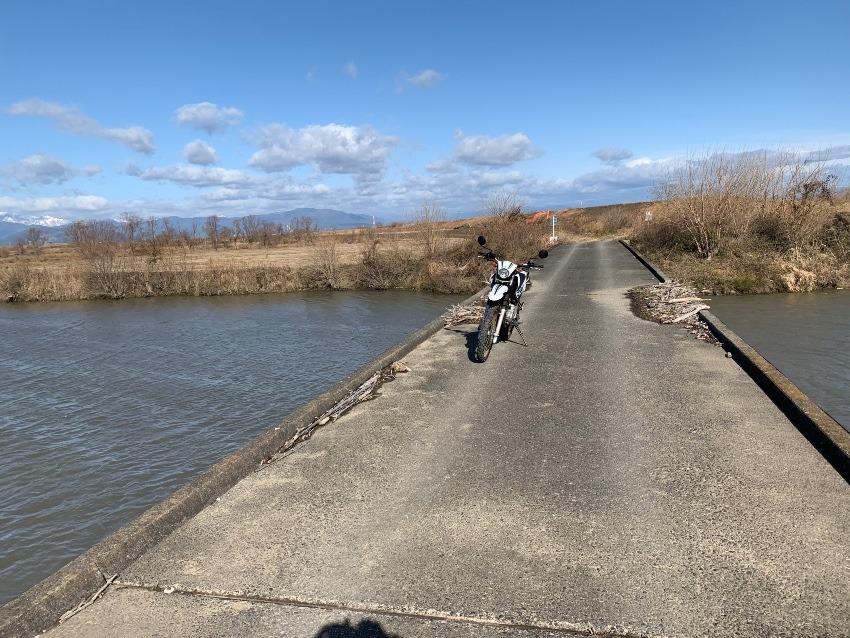 揖斐川左岸をプチツー