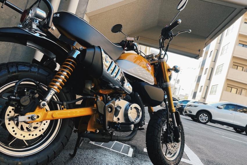 ■集合住宅でバイクを洗ってみる。