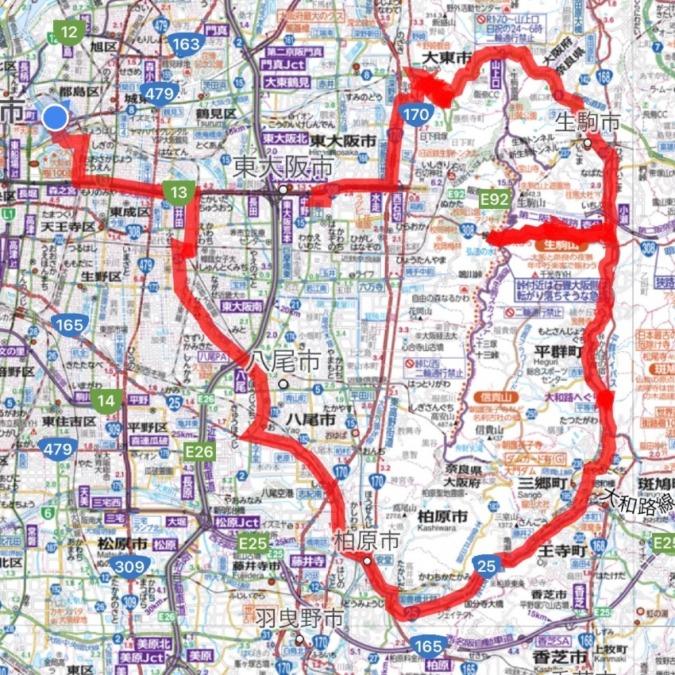 プチツーリングin東大阪&奈良