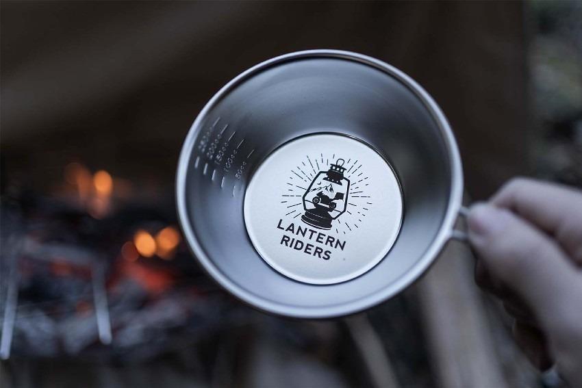 【LANTERN RIDERSプレゼントキャンペーン】限定!オリジナルシェラカップ&ステッカー!(RIDEMATEステッカーもあるよ)
